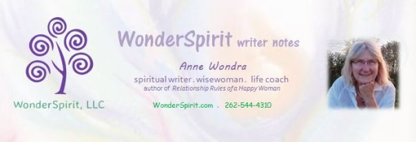 Anne Wondra Newsletter sign-up