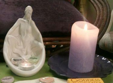Goddess candle